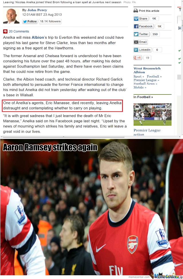 Ramsey Strikes Again