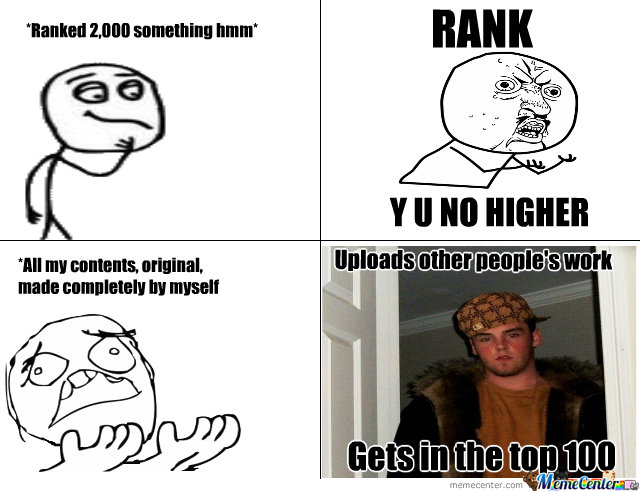 Rank Y U No Higher