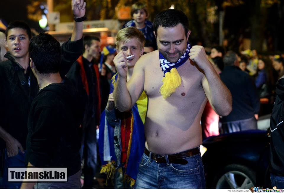 Rape Face Level Bosnian Football Fan