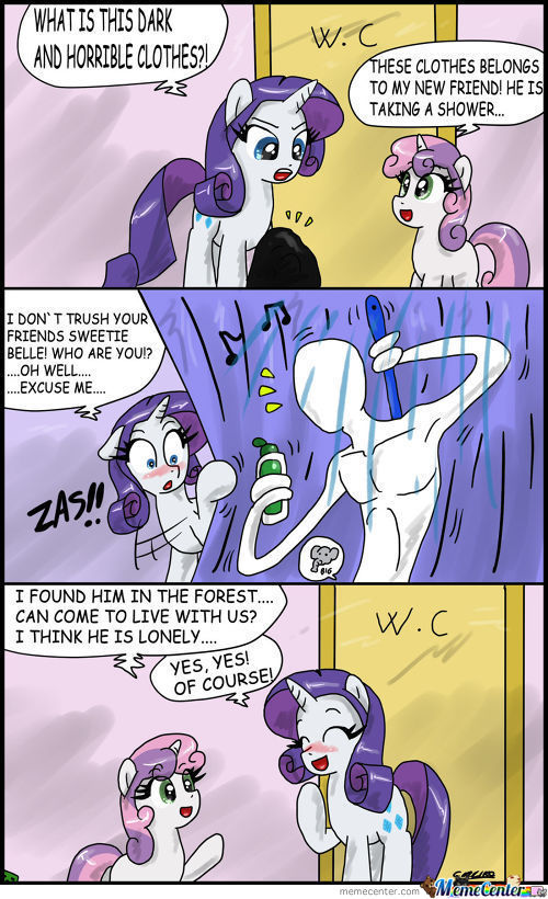 Rarity Meets Slenderman