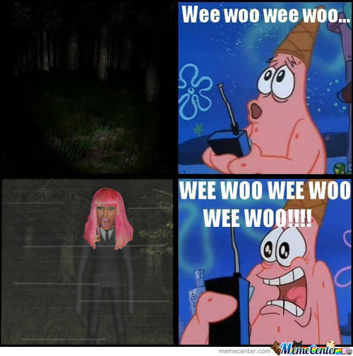 Raze's Slender-Minaj In Action