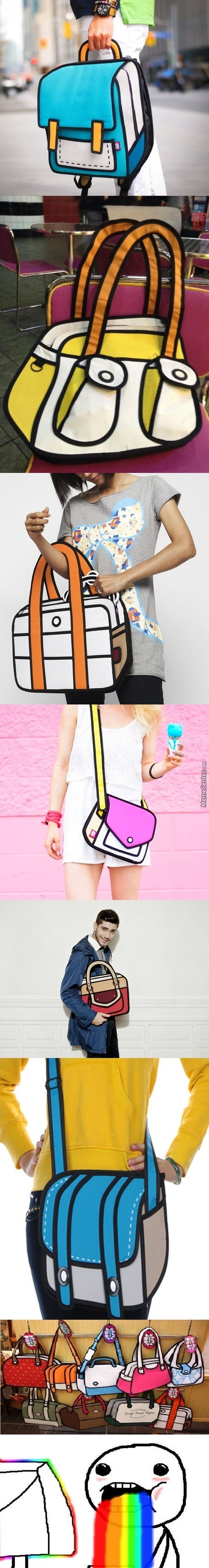 Real Cartoon Bags!!!!