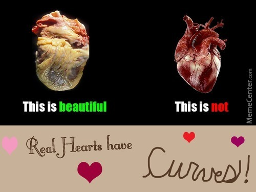 Real Hearts Have Curves