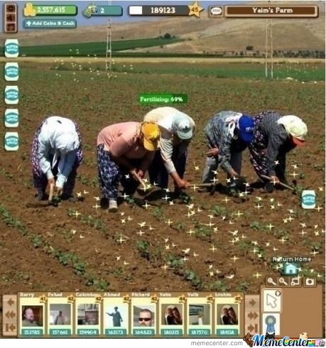 Real Life Farmville