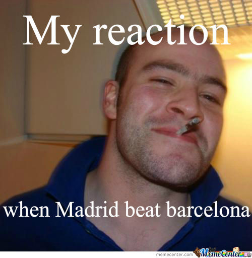 Real Madrid Beating Barcelona