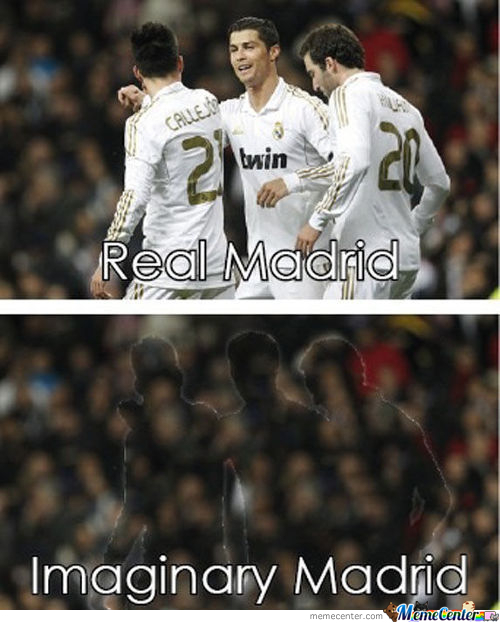 Real Madrid Vs Imaginary Madrid