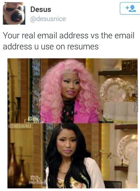 Real Vs Resume