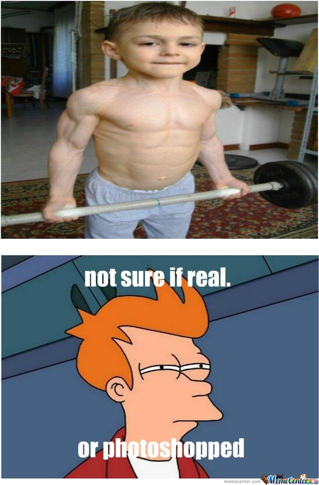 Bodybuilder Kid
