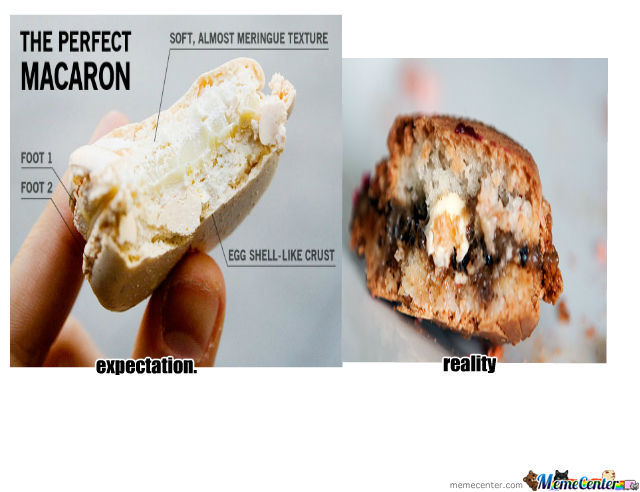 Reality And Expectation Of Macaron