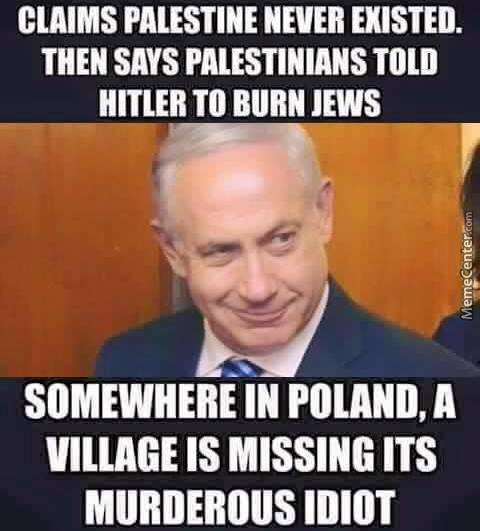 Really Netanyahu?