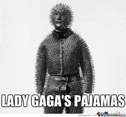 Lady Gaga's Pajamas