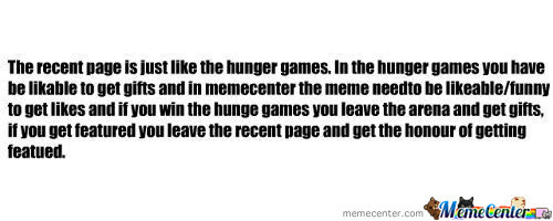 Recent Page= Hunger Games