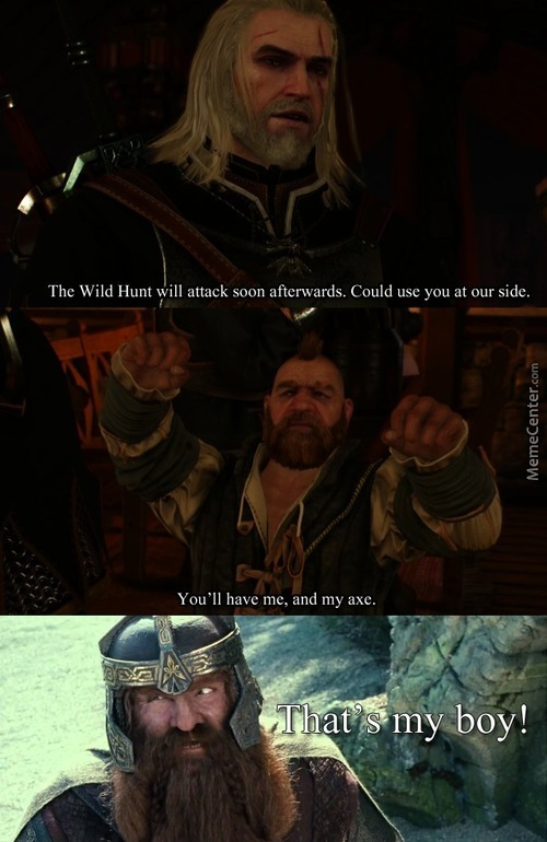 Recruit A Dwarf, Recruit Their Axe