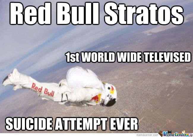 Red Bull Stratos Is Stupid