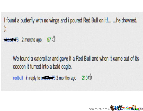 Red Bull Turns Caterpillar To Eagle