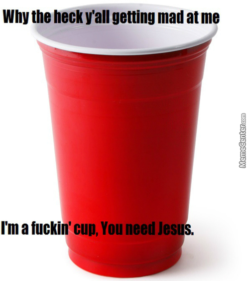 Red Cup Has A Word About The Red Cup Controversy