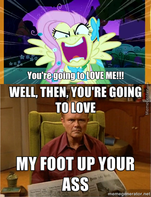 Red Forman's Reaction To Flutterrage