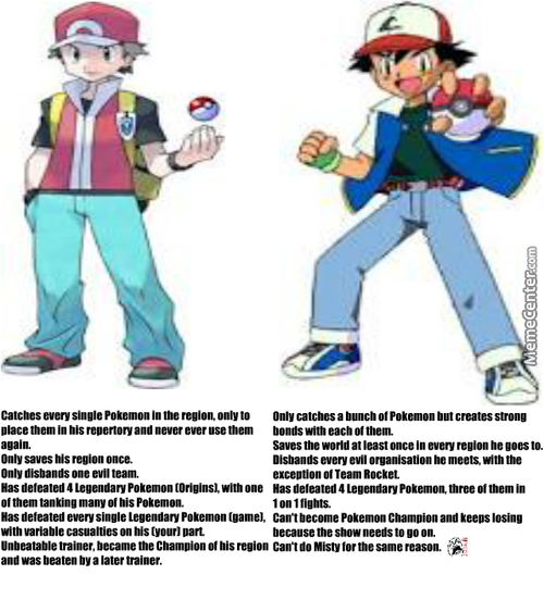 Red Vs Ash : The Real Deal