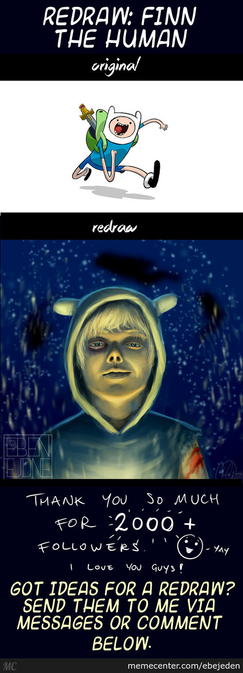 Redraw: Finn The Human