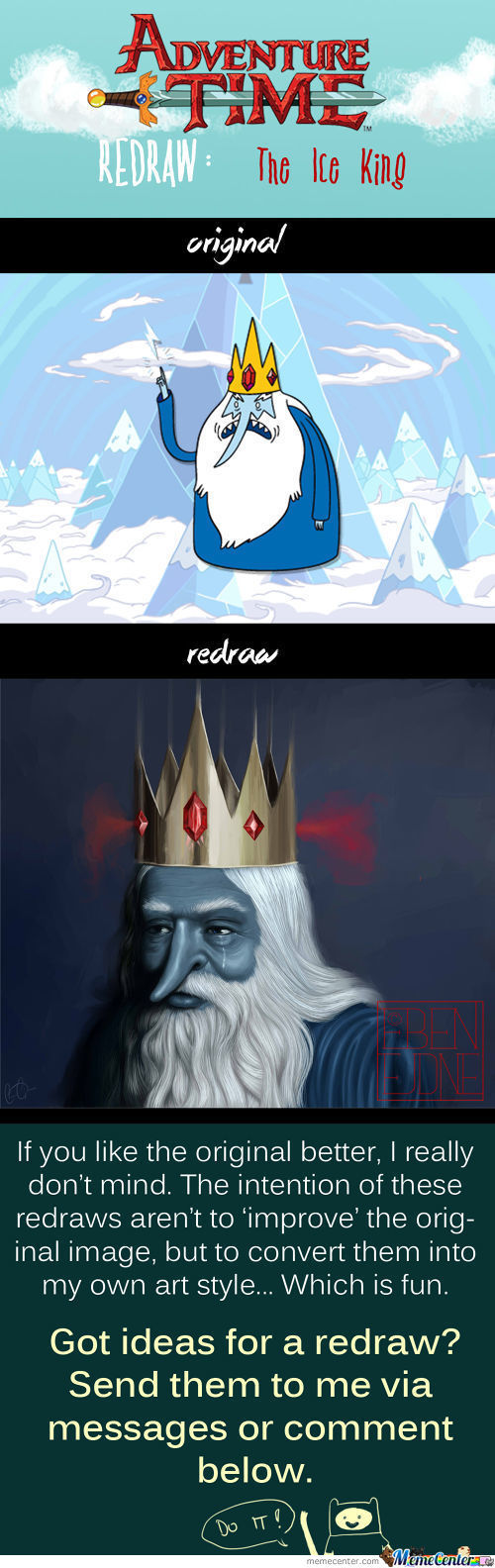 Redraw: The Ice King
