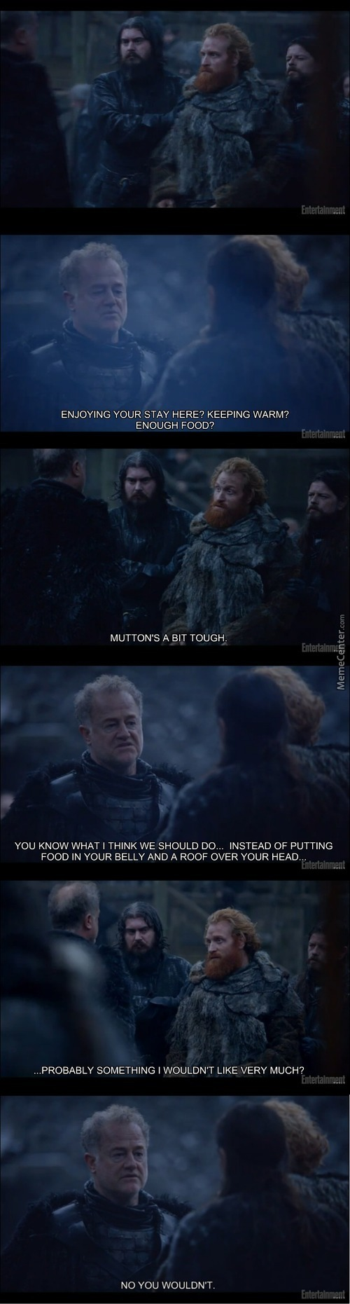 Refugee Crisis In Westeros  (Something Like The  Refugee Crisis On Earth Ahaha!)