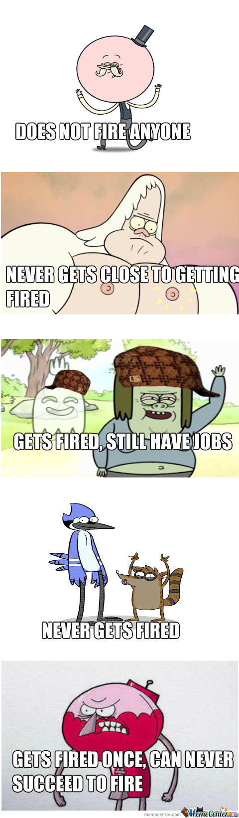 Regular Show History Of Fire