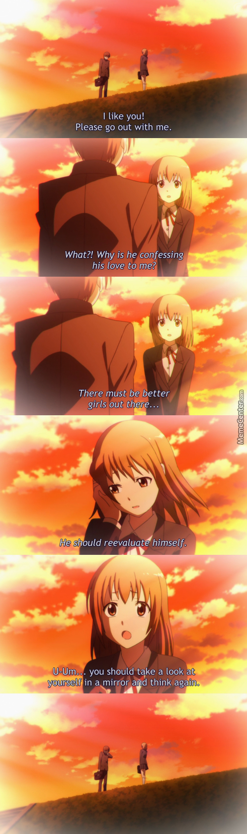 Rejected Lvl: Involuntary Burn. (Anime: Servant X Service )