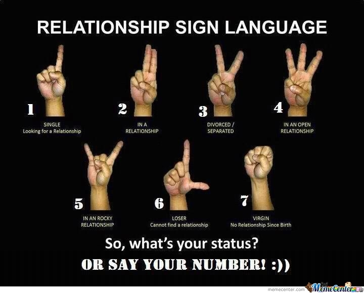 Relationship Sign Language
