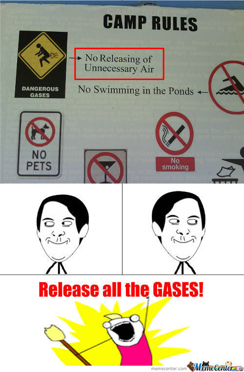 Release All The Gases!