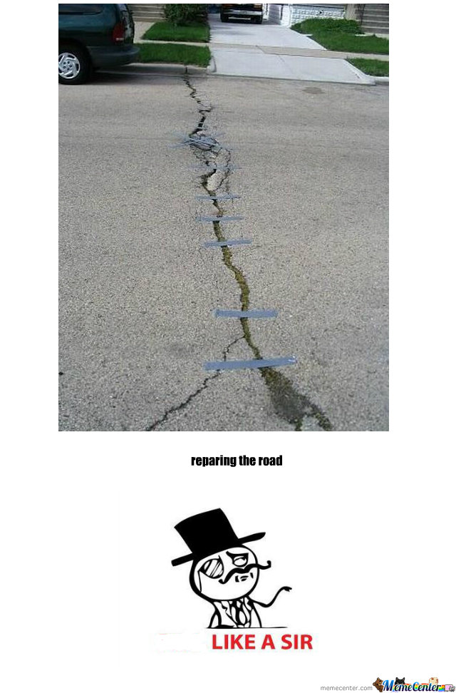 Reparing The Road