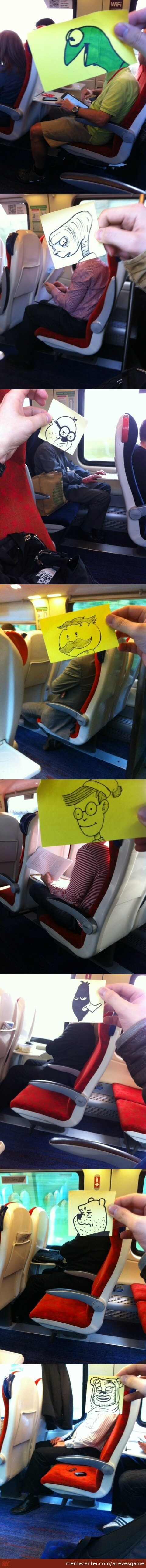 Replacing Strangers Heads With Famous Drawn Character Heads