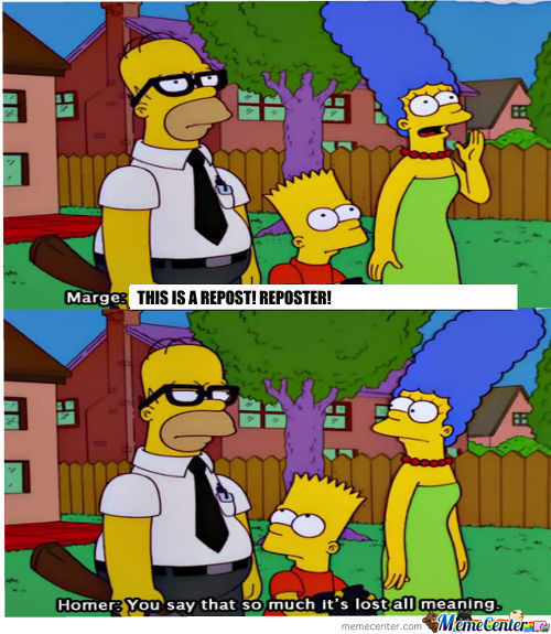 Reposts. Simpsons