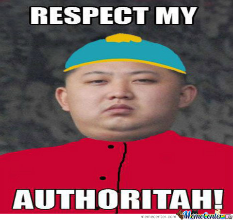 Respect My Authritah !
