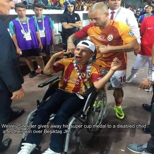 Respect To Wesley Sneijder