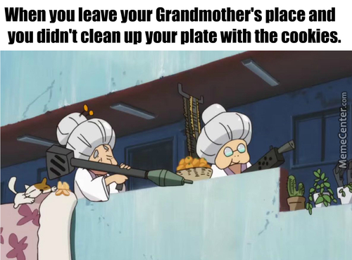 Respect Your Grangran's Hard Efforts And Eat The Damn Cookies, I Dare You!