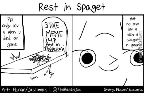 Rest In Spaget