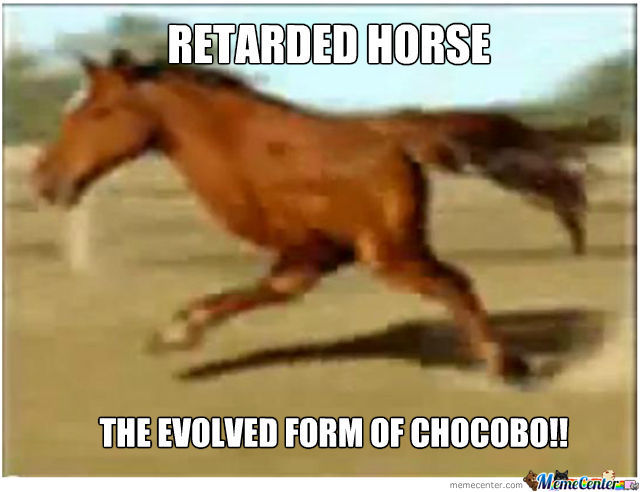 Retarded Chocobo!!