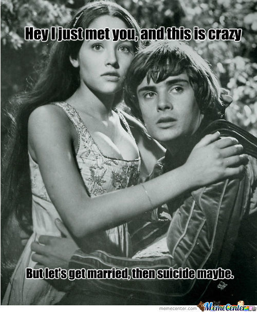 Retarded Romeo And Juliet