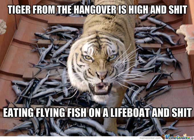 Richard Parker High As F*ck