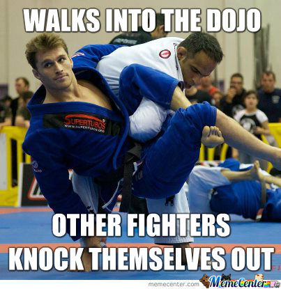 Ridiculously Photogenic Jiu-Jitsu Guy