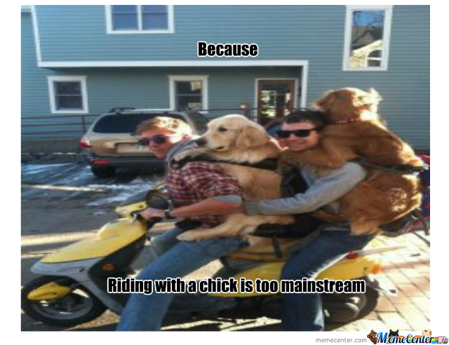 Riding With A Chick