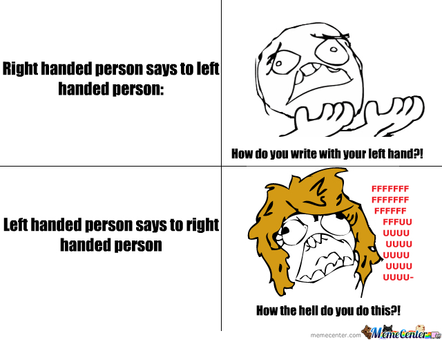 difference between left handed and right handed pdf