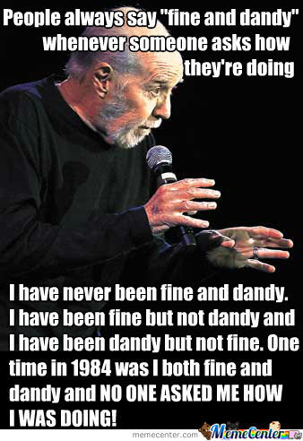 Rip George Carlin You Funny Sob