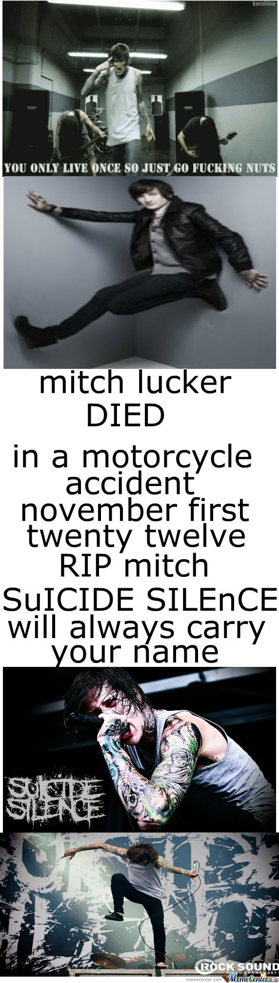 Rip. Mitch Lucker