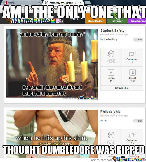 Ripped Dumbledore