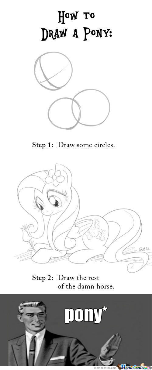 [RMX] A Quick Guide To Drawing Ponies!