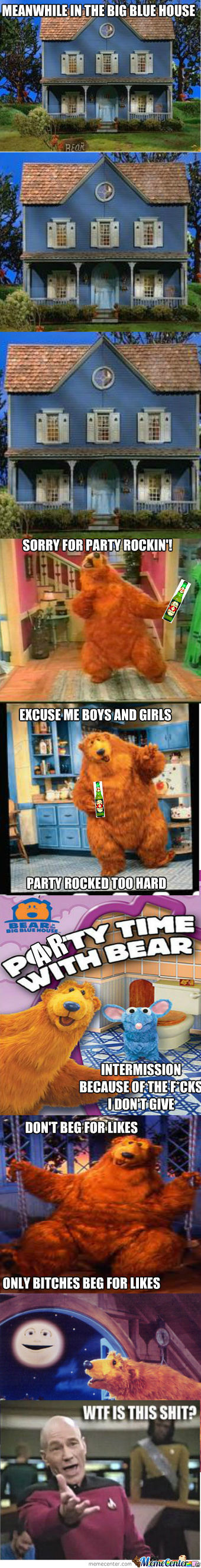 [RMX] Bear In The Big Blue Party House