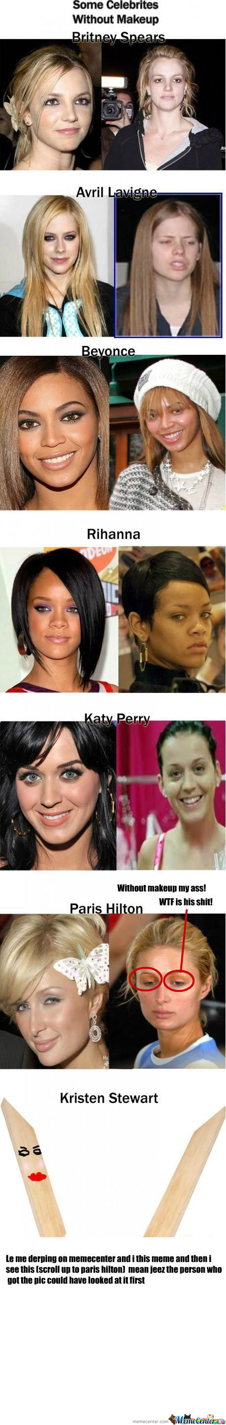 [RMX] Celebrities Without Make Up