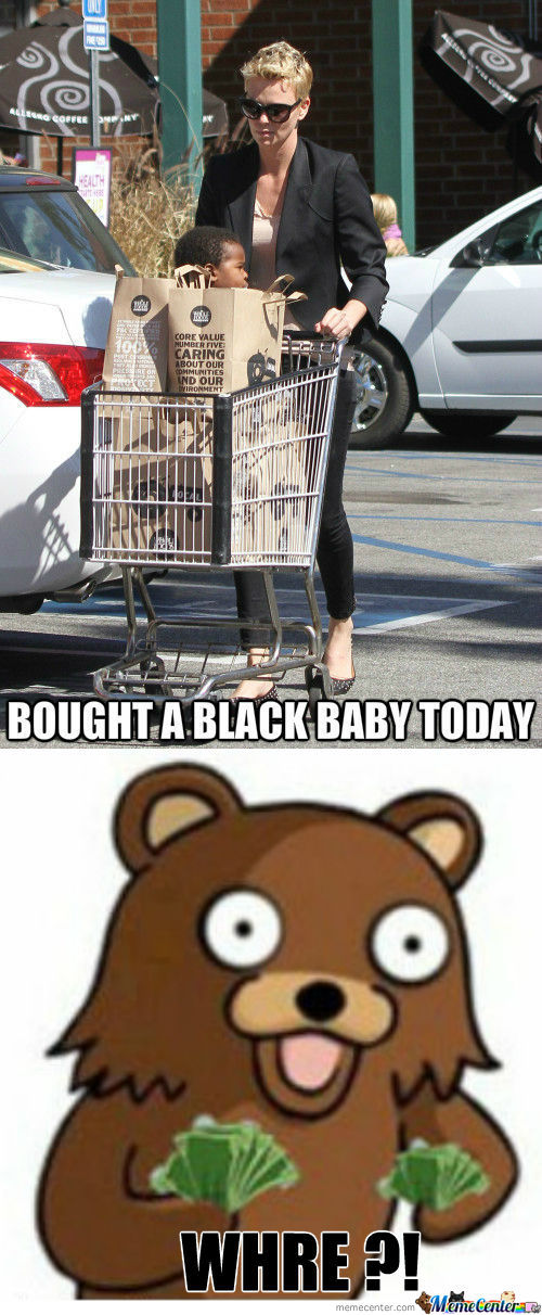 [RMX] Charlize Theron Bought A Black Baby