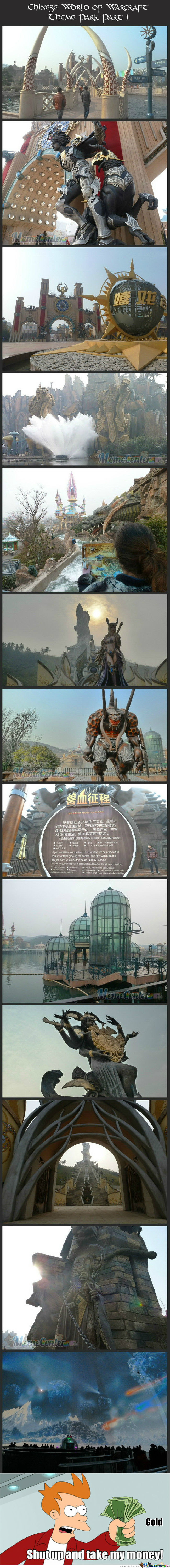 [RMX] Chinese World Of Warcraft Theme Park. 1/2